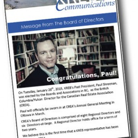 Paul Elected to CREA!